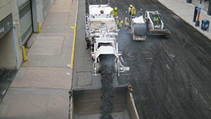 Professional Milling & Road Construction Sweeping Services